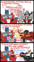 IDW Optimus in a nutshell by VolverseLoco