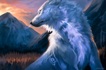 Fantasy Wolf [free to use!] by Kipine