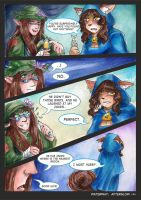 Waterway Afterglow pg. 4. by TiamatART