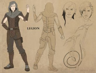 Legion - Character Design by TrinityCrest