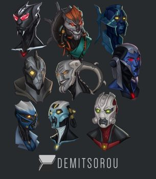 Technorealm: Headshot Collection by Demitsorou