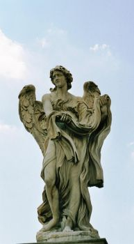 Ponte Sant'Angelo angel by Ampata