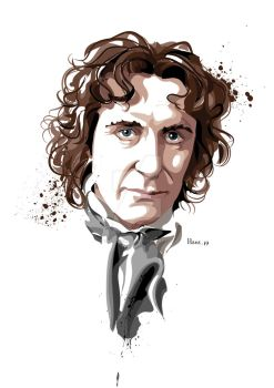 The Eighth Doctor Who by hansbrown-77