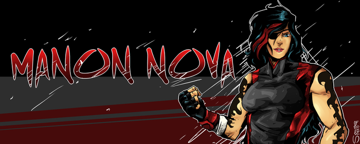 Manon Nova- 2018 design by shadowtheultimate101