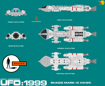 SHADO Mark IX Hawk by adrasil