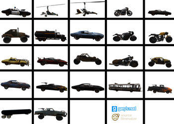 [DL] RoadKill vehicles (UT2004 mod) by Stefano96
