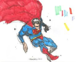 Supes Marker Scribble by timmytom
