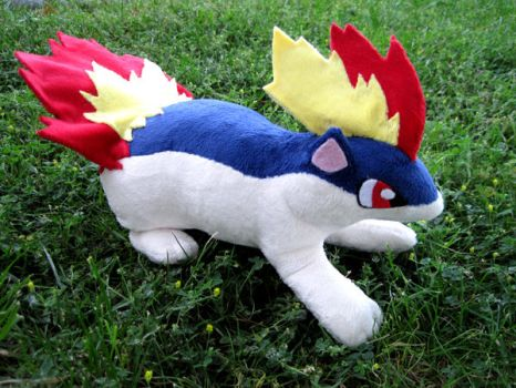 Ferocious Plushie Quilava by racemysunfish