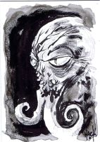 War of the Worlds sketchcard 07 by RobertHack