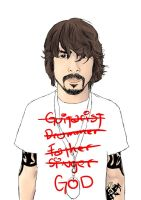 Dave Grohl by XchuzcoreX
