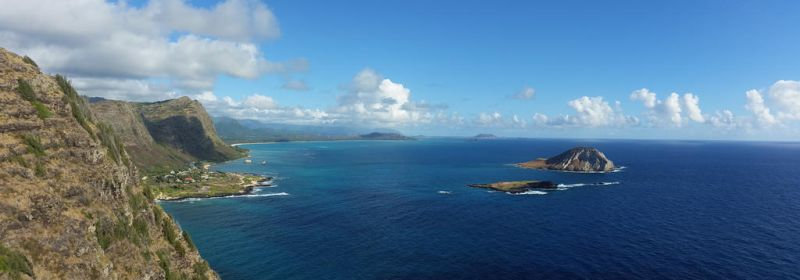 view from makapuu by SquishyKurage