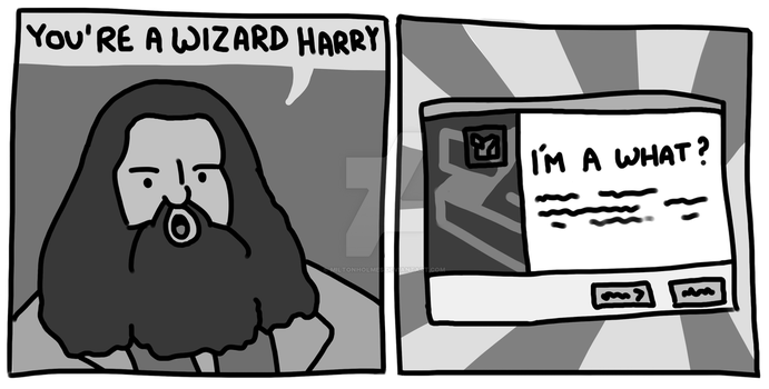 You're a Wizard Harry by Miltonholmes