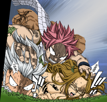 Fairy Tail 208 Pg 19 20 Attack by Spitfire95