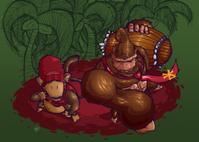 Donkey Kong Country by Pedrovin