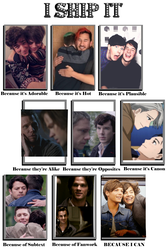 some things have changed! [end of 2016 ship meme] by oh-no-Castiel