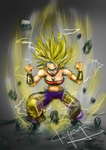 Caulifla Supersaiyan2 Color by kiayt