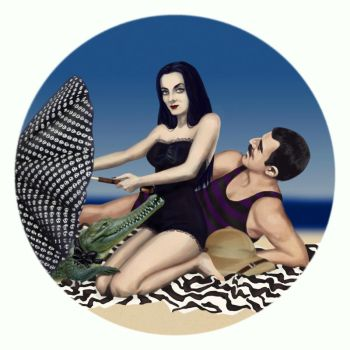 Pin up Morticia by MigraineSky