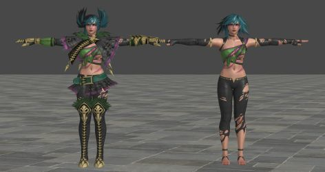SCVI Tira Default XPS Model *UPDATED!* by Chrissy-Tee