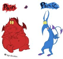 Pain and Panic by kczeroo