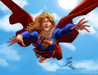 Supergirl by odeloth