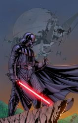 Darth Vader - Colors by ZethKeeper