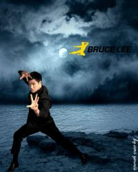 The Dragon Bruce Lee by kjlgy