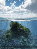 Above and below water by 00AngelicDevil00