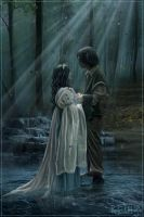 Beren and Luthien by Iardacil