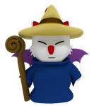 Moogle Blackmage by SiverCat