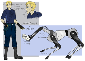 Mike and Caleb ref by ChesterPalm