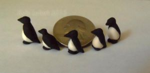 Micro Miniature Penguins by Kyle-Lefort