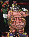 Porky The Clown by DrPayne