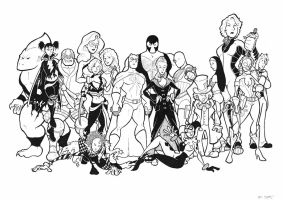 Secret Six by BevisMusson
