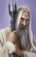 Old - Saruman the White by Luftwaffles