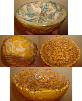Art Class Bowls by Sabeku