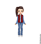 Martina 'Marty' McFly Updated by LolaScheving