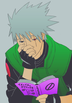 Kakashi-san without his mask by Shantall09