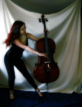 Cellos in Motion 1 by Wickedmistress777