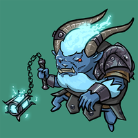 Dota Fanart v2 - Spirit Breaker by KidneyShake