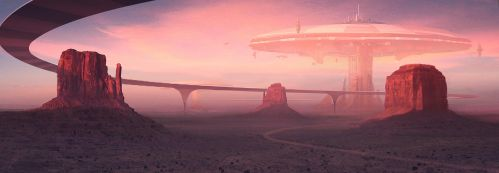 Future Monument Valley by ANTIFAN-REAL