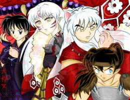 Inuyasha : The Hawt Guys by spogunasya