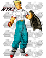 Nyka- Android 19 2.0 by ruga-rell