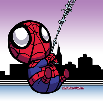 City Spidey by artisanpanda
