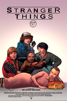 STRANGER THINGS by sullivanillustration