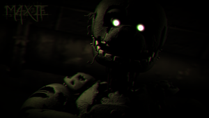 [SFM] SpringTrap poster the sequel by MaxieOfficial