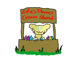 Zefa's Flower Crown Stand by SoulDahDerp