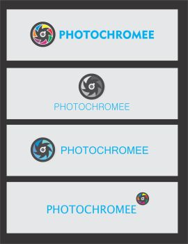 Logo Options - Photochromee by GovindDhuri