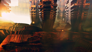 Ancient Alien Ruins by banner4