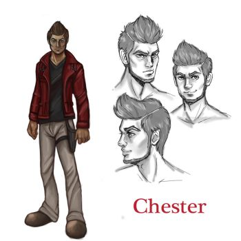Chester Reference by NatsumeWolf