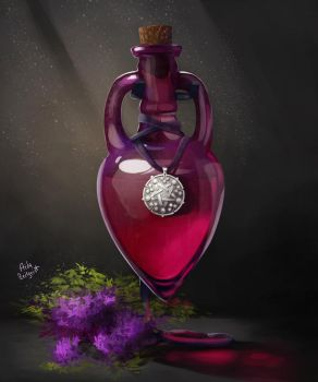 Perfume with lilac and gooseberry taste by Mephistopheies